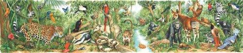 Cheap Frank Schaffer The Rain Forest Giant Floor Puzzle 5 Feet Long 48 Pieces ages 4&Up (B001GTZFLS)