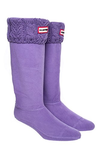 Dual Cable Knit Tall Sock