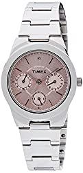 Timex E-Class Analog Pink Dial Womens Watch - J100