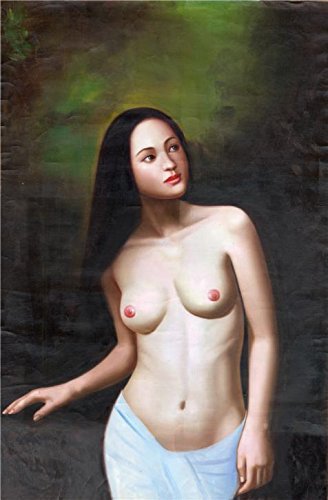 Perfect Effect Canvas ,the Replica Art DecorativeCanvas Prints Of Oil Painting 'A Nude Woman', 8x10 Inch / 20x26 Cm Is Best For Laundry Room Decoration And Home Decoration And Gifts