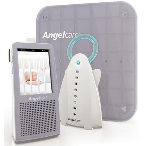 Angelcare 3-In-1 Video Movement Sensor & Sound Baby Monitor 1100-A-Us-1Gb W/ Video