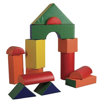 Ecr4Kids Softzone Jumbo Soft Blocks (14-Piece) front-991144