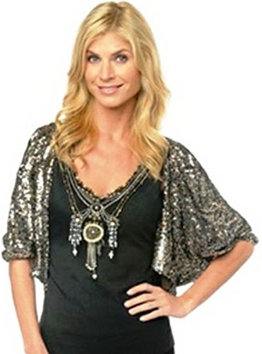 reem-by-reem-acra-100-silk-dolman-sleeve-metallic-shrug-xl