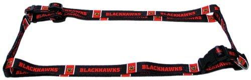Hunter MFG 5/8-Inch Chicago Blackhawks Adjustable Harness, Small (Chicago Blackhawks Dog Harness compare prices)