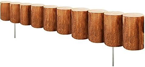 Greenes Fence Wood Log Edging 5 x 30quot