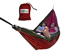 Trek Light Gear Double Hammock (Red/Green)