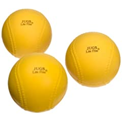Buy Jugs Lite-Flite Baseballs (One Dozen) by Jugs