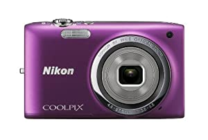 Nikon COOLPIX S2700 16 MP Digital Camera with 6x Optical Zoom and 720p HD Video (Purple)