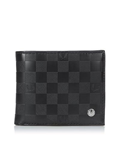 Fred Perry Portafoglio Fp Checkerboard Billfold Wallet