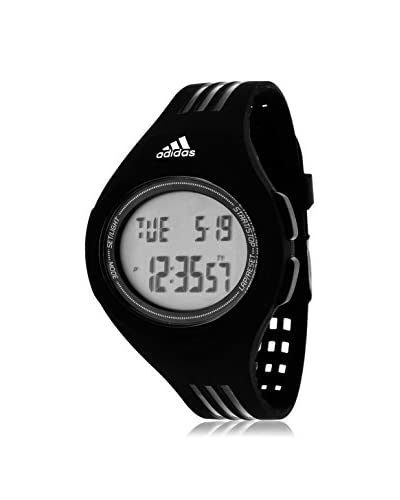Adidas Unisex ADP3159 Stainless Steel Watch With Black Polyurethane Band