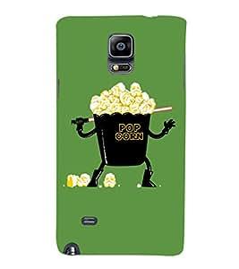 EPICCASE Darth popcorn Mobile Back Case Cover For Samsung Galaxy Note Edge (Designer Case)