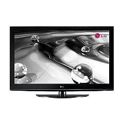 """LG 42 PQ 3000 42 Zoll / 107 cm 16:9 """"HD-Ready"""" 100 Hz Plasma-Fernseher mit integriertem DVB-T Tuner schwarz"""