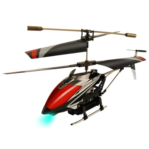 Swann Swtoycrimsous Silver Red Helicopter Crimson Eye Built