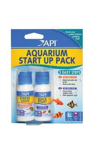 API Aquarium Start Up Pack with Stress Coat and Quick Start Water Conditioner for Aquariums (Aquarium Tap Water Filter compare prices)