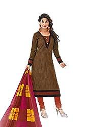 Gugaliya Women's Unstiched Superior Cotton FASHION SALWAR,KAMEEZ & DUPATTA Suit ( P523 )