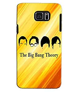 EU4IA Big Bang Theory guys MATTE FINISH 3D MATTE FINISH Back Cover Case For S...