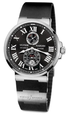 Ulysse Nardin Maxi Marine Chronometer Mens Automatic Watch 263-67-3/42