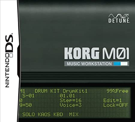 KORG M01 Music Workstation [Amazon.co.jp Limited Edition] [Japan Import]