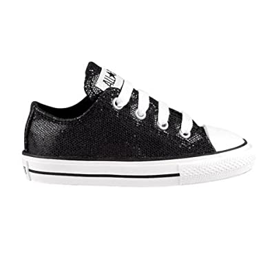 Toddler Converse All Star Sparkle Athletic Shoe - Black