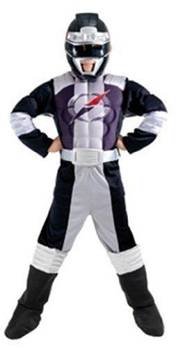 Déguisement Power Rangers noir