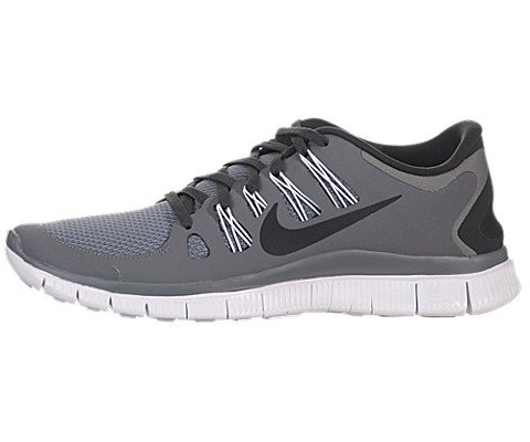 Nike Men's FREE 5.0 PLUS, COOL GREY GRAY/ANTHRACITE/WHITE, 10 M US