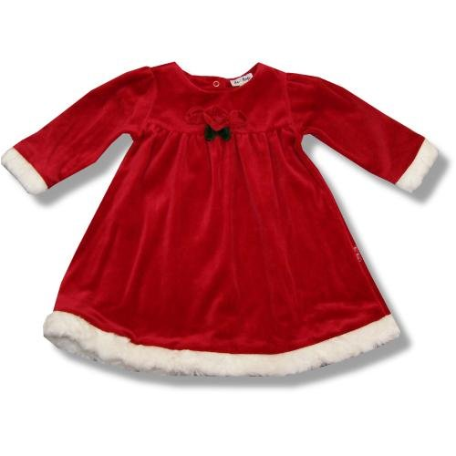 LeTop Infant Girls Red Velour Dress With Roses ~ Mrs Claus - Buy LeTop Infant Girls Red Velour Dress With Roses ~ Mrs Claus - Purchase LeTop Infant Girls Red Velour Dress With Roses ~ Mrs Claus (Le Top, Le Top Apparel, Le Top Toddler Girls Apparel, Apparel, Departments, Kids & Baby, Infants & Toddlers, Girls, Skirts, Dresses & Jumpers, Dresses)