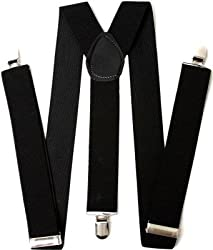 Atyourdoor Y- Back Suspenders for Men(Blacksus1)