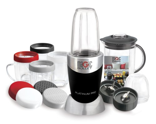 Magic Bullet 7921 Platinum Pro 20-Piece Set, Stainless Steel