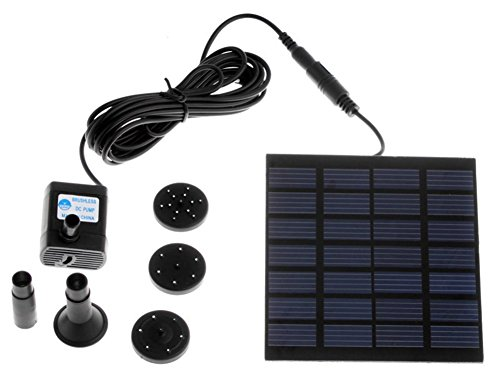 Amaranteen - Csolar Pump For Water Cycle/Pond Fountain/Rockery Fountain