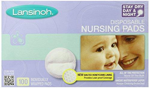 Lansinoh Ultra Soft Disposable Nursing Pads 一次性防溢乳垫 100片 $8.83