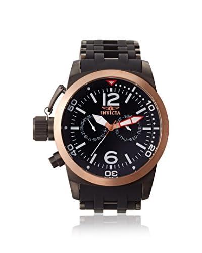 Invicta Men's 80051 Sea Spider Black Stainless Steel and Polyurethane Watch