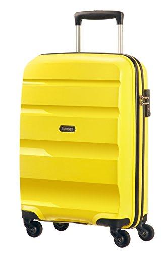 American Tourister Bon Air 4 Roues Strict Bagage Cabine, 55 cm, 31,5 L, Solar Jaune