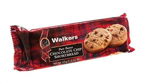 Walkers Shortbread Chocolate Chip Shortbread 175g, 4er Pack (4 x 175 g)