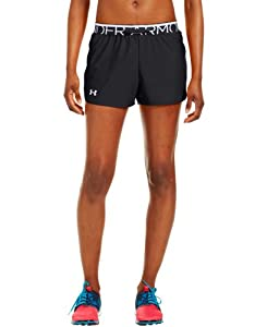 Under Armour Womens Play Up Short Black/White/White MD (US 8-10) x 3