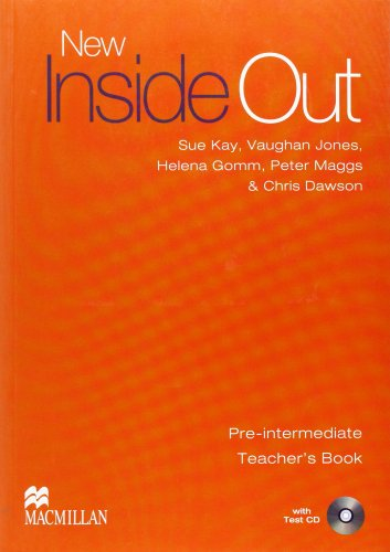 New inside out pre-intermediate (teacher's book+CD): Teacher's Book and Test CD (Teachers Book Pack)