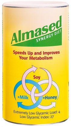 Almased Synergy Diet Powder, 17.6 Oz (Pack of 2)