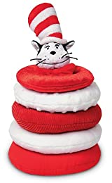 Dr. Seuss Cat in the Hat Stacking Toy by Manhattan Toy
