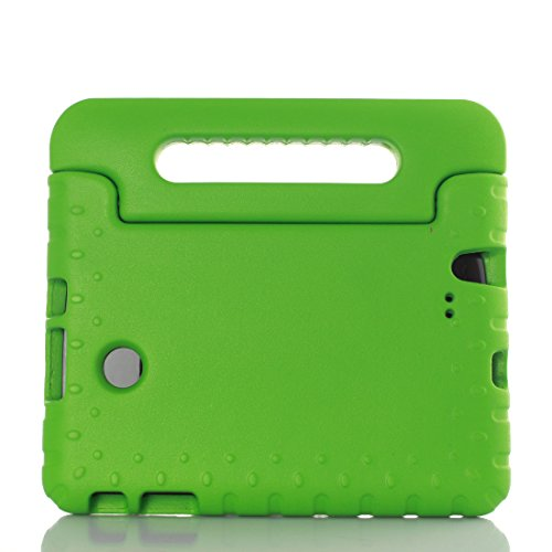 LG G Pad F 8.0 Inch V495 Tablet Kids Case - T-Trees Kids Shock Proof Convertible Handle Light Weight Super Protective Stand Cover Case for LG G Pad F 8.0 Inch V495 Tablet (Green) (Lg G Pad Protective Case compare prices)