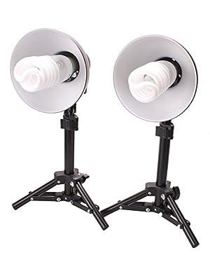 StudioPRO Product Photography 300W  Table Top Photo Studio Lighting Kit - 2 Light Kit