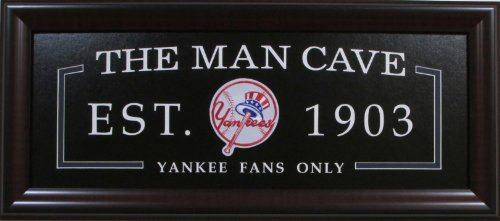 mlb-baseball-new-york-yankees-man-cave-sign-framed-deluxe-licensed-embroidered-team-emblem-2019