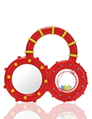 Mirrored Rattle Toy