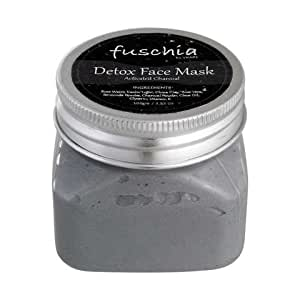 Fuschia Detox Face Mask - Activated Charcoal