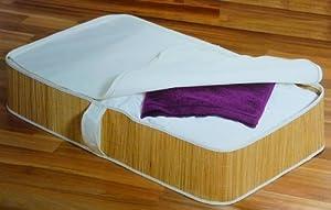 mq unterbett kommode kleider aufbewahrung bettkasten tasche unterbett box bambus. Black Bedroom Furniture Sets. Home Design Ideas