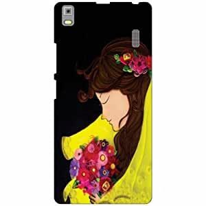 Lenovo K3 Note - PA1F0001IN Back Cover - Silicon Love flowers Designer Cases