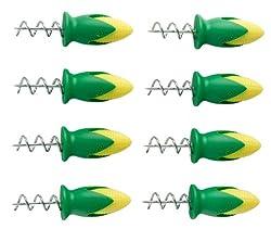 Tovolo Twist-Lock Corn Holders - Set of 8