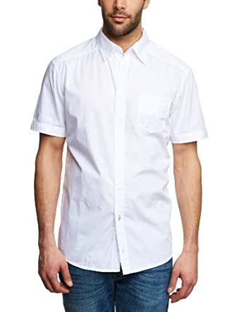 Mustang - Chemise - Homme - Blanc (White 200) - FR : Small (Taille fabricant : Small)