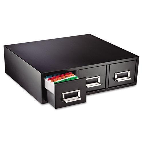 SteelMaster 263F3516TBLA Drawer Card Cabinet Holds 4,500 3 x