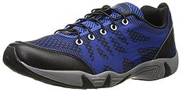 RocSoc Men\'s Water Shoe, Black/Royal, 12 M US