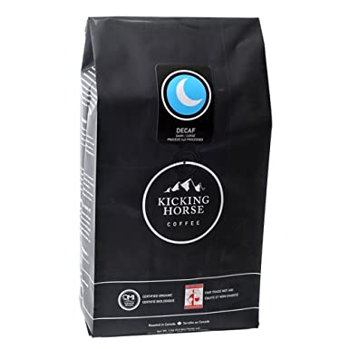 Cheap Price Kicking Horse Coffee Decaf , Whole Bean Coffee, 2.2-Pound Pouch