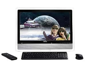 MSI Wind Top AE2420-3Di541BW7H 59,9 cm (23,6 Zoll) Desktop-PC (Intel Core_i5-650, 3,2GHz, 4GB RAM, 1000GB HDD, Radeon HD 5730, DVD, Win 7 HP)